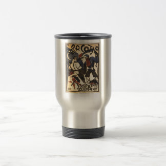 USSR CCCP Cold War Soviet Union Propaganda Posters Travel Mug