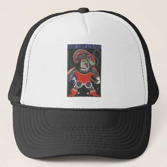 USSR CCCP Cold War Soviet Union Propaganda Posters Trucker Hat