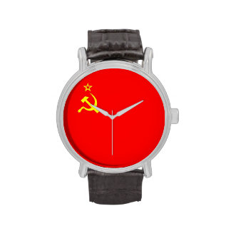 ussr cccp vintage old russia soviet communist wristwatches