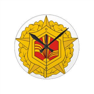 USSR Chemical Troops, insignia (1970) Wallclocks