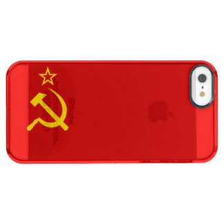 USSR CLEAR iPhone SE/5/5s CASE