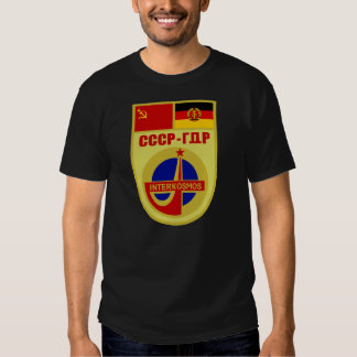 USSR-DDR Soyuz 31 Interkosmos Mission Patch Shirts