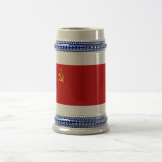 USSR Flag Beer Stein