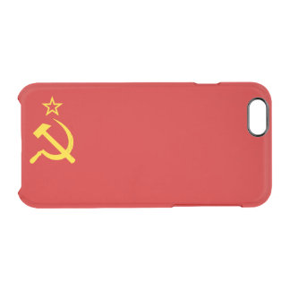 USSR flag Clear iPhone 6/6S Case