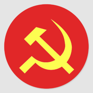 USSR Flag - Customized Classic Round Sticker