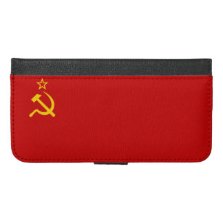 USSR flag iPhone 6/6s Plus Wallet Case