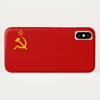 USSR flag iPhone X Case