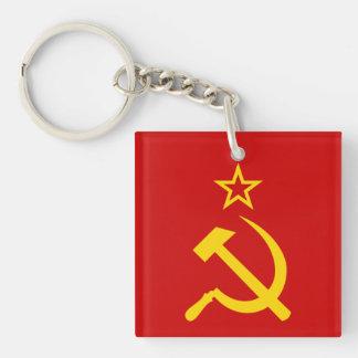 USSR flag Keychain