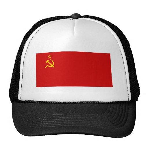 USSR Flag Mesh Hats