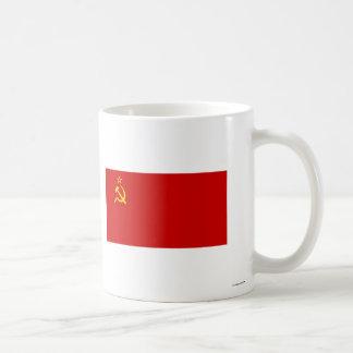 USSR Flag Classic White Coffee Mug