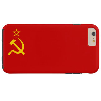 USSR flag Tough iPhone 6 Plus Case
