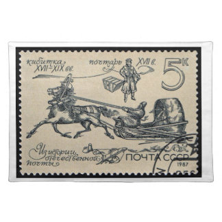 USSR History of Domestic Post ~ Placemats
