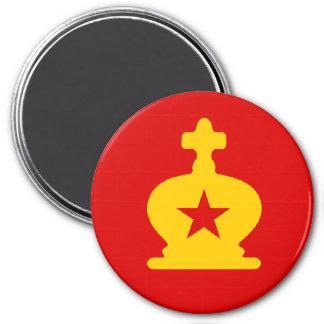 USSR King - Zero Gravity Chess (CW) Magnet