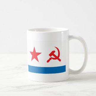 USSR Navy Jack Classic White Coffee Mug
