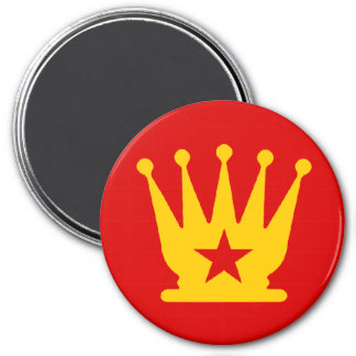 USSR Queen - Zero Gravity Chess (CW) Magnet