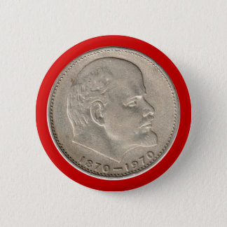 USSR Russia rouble USSR Russia Rouble Ruble Lenin Button