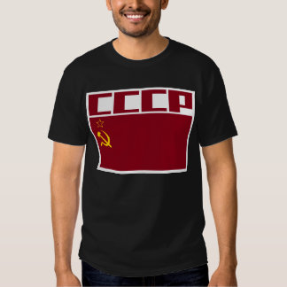 USSR Space Patch Tshirts