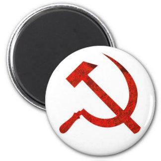 USSR Symbol 2 Inch Round Magnet