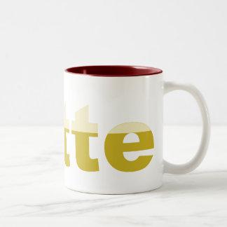 ust how i like my LATTE Two-Tone Coffee Mug