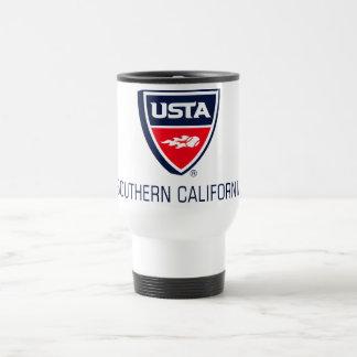 USTA Southern California 15 Oz Stainless Steel Travel Mug