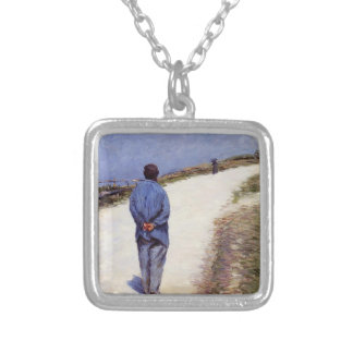 ustave Caillebotte- Pere Magloire on the Road Pendant