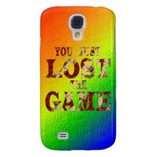 Usted acaba de perder el juego - meme del Internet Funda Para Galaxy S4