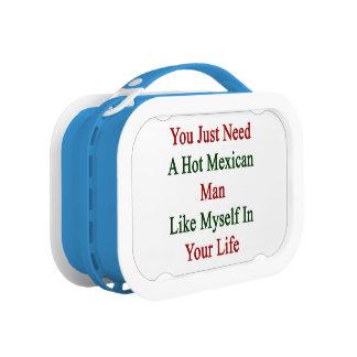Usted apenas necesita a un hombre mexicano