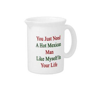 Usted apenas necesita a un hombre mexicano jarra