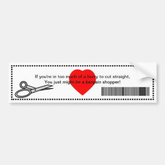 Usted apenas puede ser que sea un comprador del ne etiqueta de parachoque