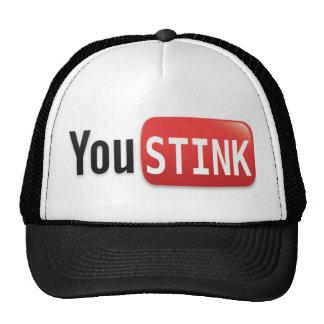 Usted apesta el casquillo gorras