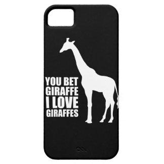 Usted apostó jirafas del amor de la jirafa I iPhone 5 Coberturas