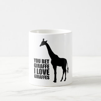 Usted apostó la taza de las jirafas del amor de la