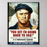 ¡Usted apostó que estoy volviendo al mar! Impresiones