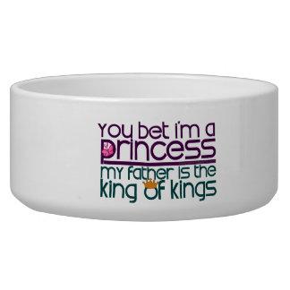 Usted apostó que soy princesa bol para perro