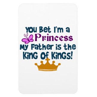Usted apostó que soy princesa iman de vinilo
