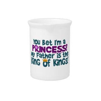 Usted apostó que soy princesa jarrones