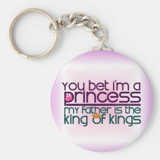 Usted apostó que soy princesa llavero