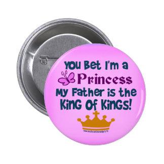 Usted apostó que soy princesa pin