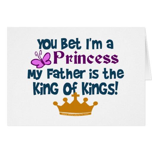 Usted apostó que soy princesa tarjeton