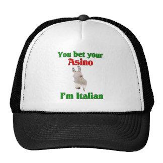 Usted apuesta su Asino que soy italiano Gorros