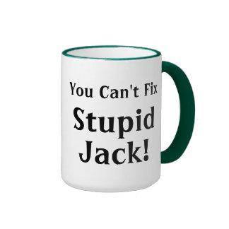 Usted arreglo linado Jack estúpido Taza De Dos Colores