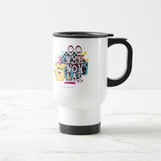 Usted baila tazas de café