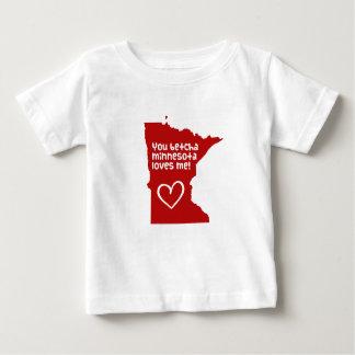 Usted Betcha Minnesota me ama Remeras