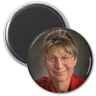 ¡Usted Betcha! Sarah Palin y Dick Cheney VP, polít Imán Redondo 5 Cm