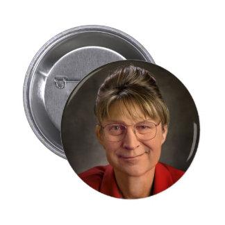 ¡Usted Betcha! Sarah Palin y Dick Cheney VP, polít Pins