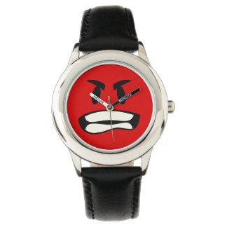 ¿Usted bro enojado? El emoji de la rabia Relojes De Pulsera