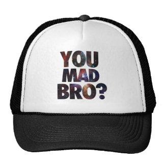 Usted Bro enojado (galaxia 2) Gorra