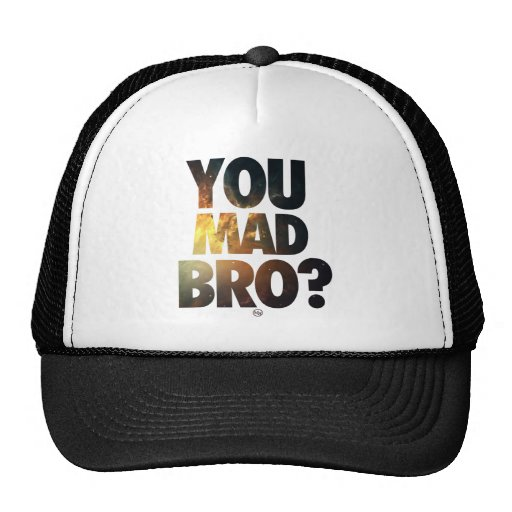 Usted Bro enojado (galaxia 4) Gorros