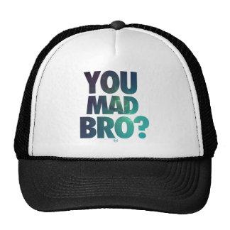 Usted Bro enojado (galaxia 5) Gorras