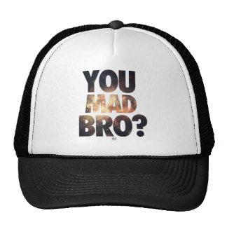 Usted Bro enojado (galaxia 7) Gorro De Camionero